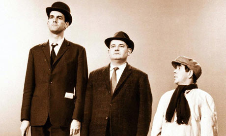 The famous class sketch between Cleese, Barker and Corbett